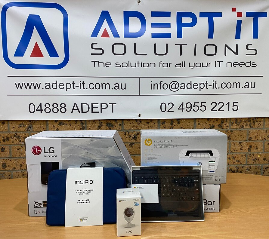 Adept IT Solutions are giving away a very cool Technology Bundle - Adept IT Solutions | IT Service and Support Newcastle, Hunter and Central Coast