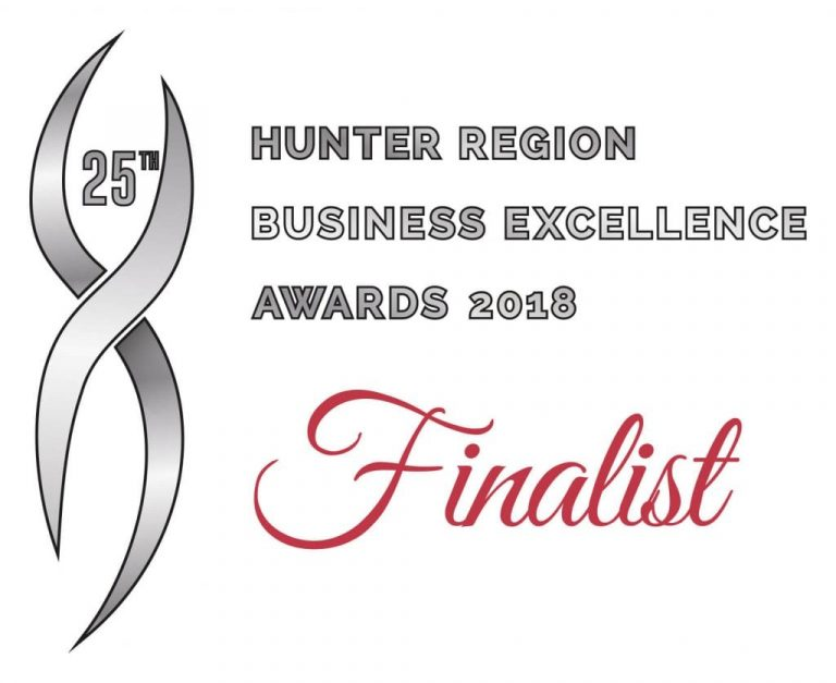 Badge Finalist - Adept IT Solutions Newcastle - Hunter Region Business Excellence Awards 2018 Finalist